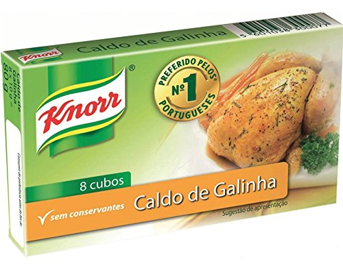 Chicken Stock Cubes - Knorr 80g (8x 10g) from Knorr