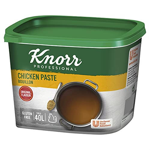 Knorr Gluten Free Chicken Paste Bouillon, 1 kg from Knorr