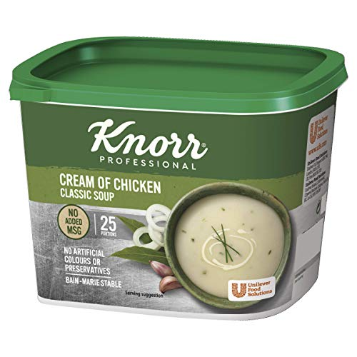 Knorr Classic Cream of Chicken Soup, 25 Portions (Makes 4.25L) from Knorr