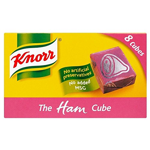 Knorr Stock Cubes Ham (8x10g) - Pack of 6 from Knorr