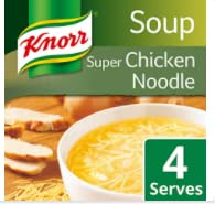 Knorr Super Chicken Noodle Dry Soup, 612 g (51 g x Pack of 12) from Knorr