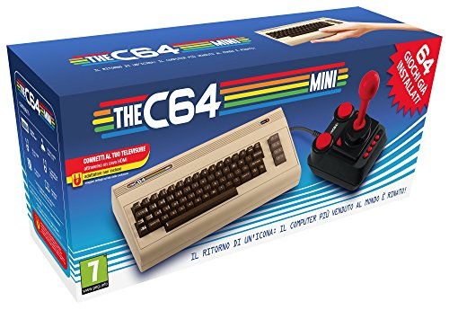 Commodore 64 Mini Retro PC Legacy Games Console CBM64 with Joystick from Commodore