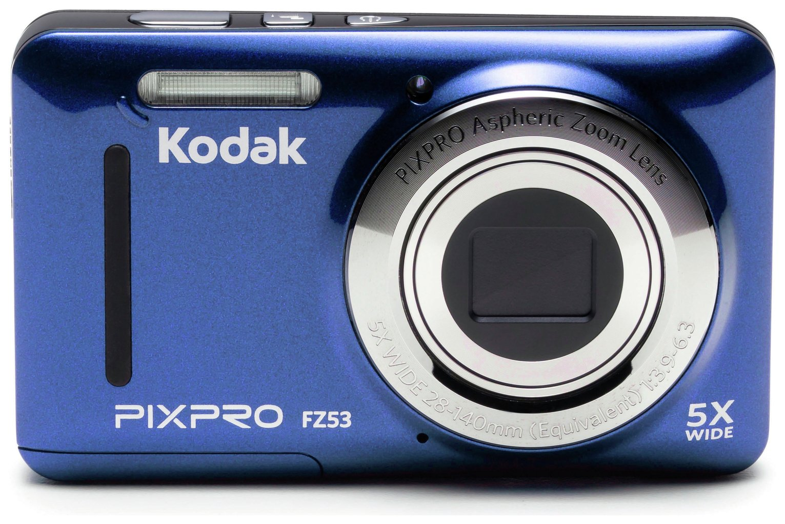 Kodak PixPro FZ53 16MP 5.1-25.5mm Mirrorless Camera - Blue from Kodak PixPro