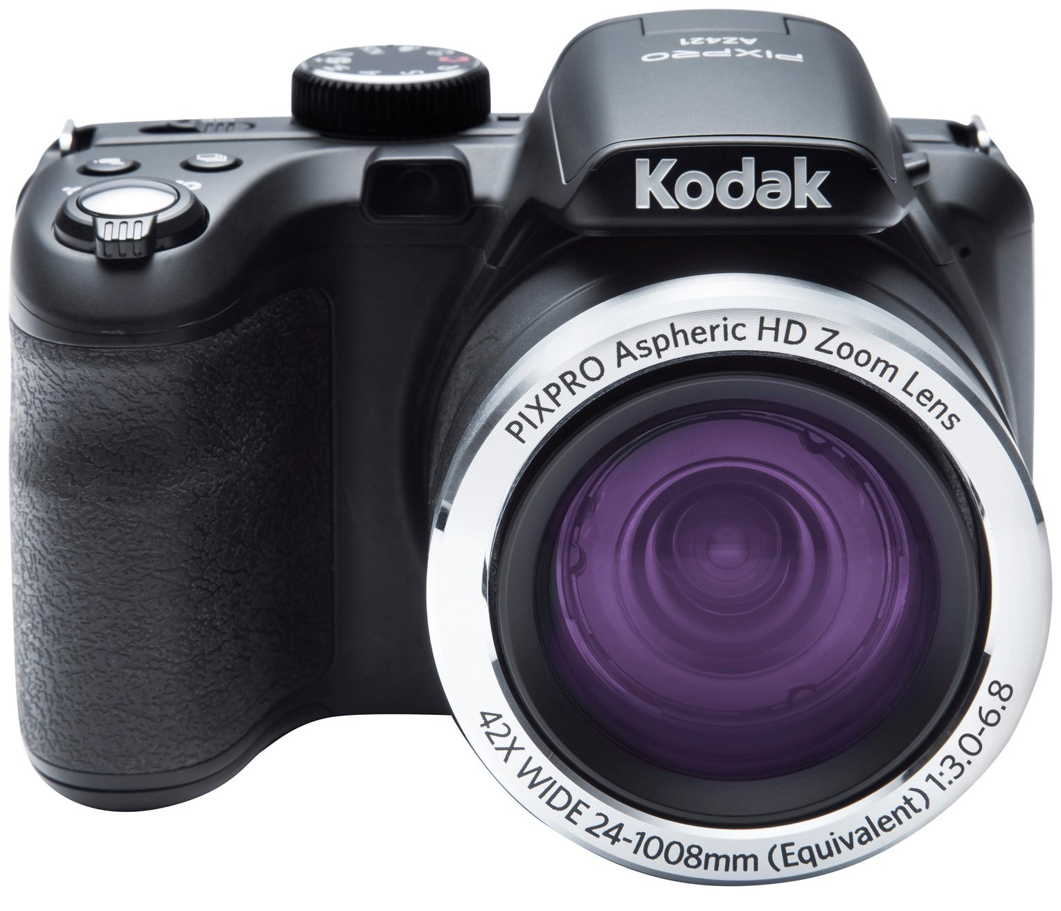 Kodak PixPro AZ421 16MP 42x Zoom Bridge Camera - Black from Kodak Pixpro