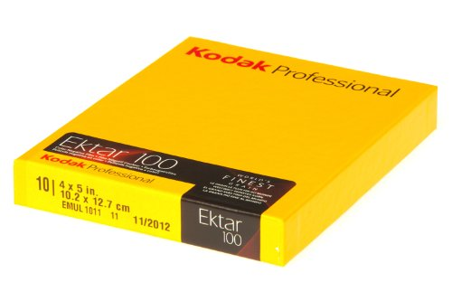 Kodak Ektar 100 4x5 inch Sheet Film 10 Pack from Kodak