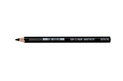 KOH-I-NOOR 3720 Aquarell Coloured Pencil - Ivory Black (Box of 12) from Koh-I-Noor