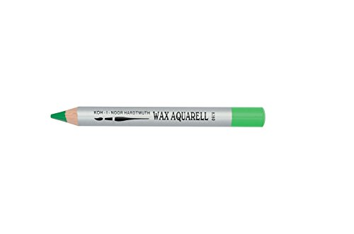 KOH-I-NOOR 8280 Wax Aquarell Coloured Pencil - Spring Green (Box of 4) from Koh-I-Noor