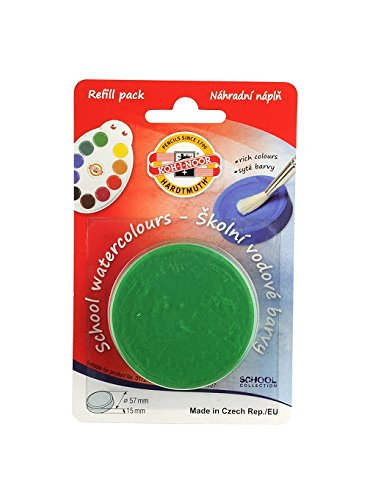 KOH-I-NOOR Single Water Colour 57 Paint - Light Green from Koh-I-Noor