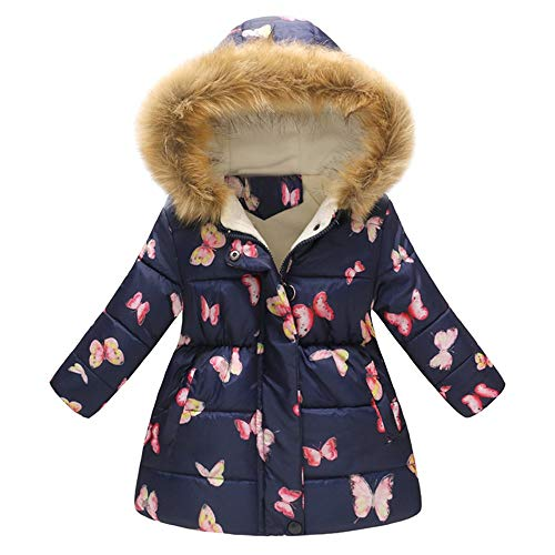 fb360323 Girls Coat 2-7 Age, Toddler Baby Girls Boys Winter Floral Thick Warm Jacket
