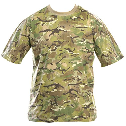Kombat UK Men's Adult Camo T-Shirts, British Terrain Pattern, Large from Kombat UK