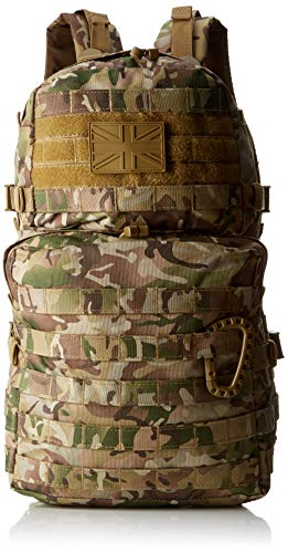 Kombat UK Waterproof  Unisex Outdoor Molle Backpack available in Camouflage - 40 Litres from Kombat UK