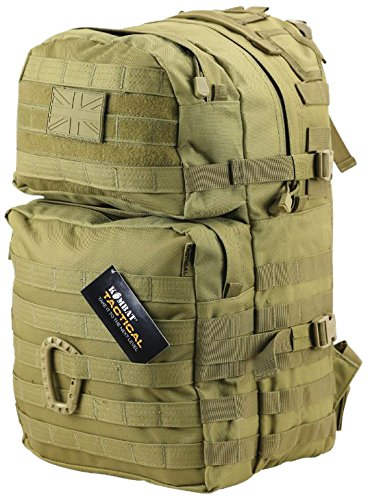 Kombat Unisex Outdoor Molle Backpack available in Green - 40 Litres from Kombat UK