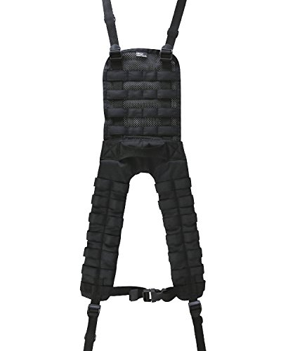 Kombat Molle Webbing Battle Belt Yoke Black from Kombat