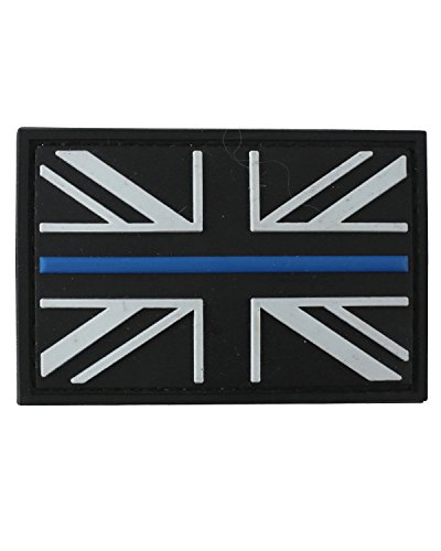Kombat Thin Blue Line Patch PVC With  Backing from Kombat