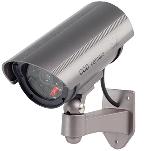 Konig Professional Dummy Outdoor Camera Flashing LED - Metalic Brown from Konig