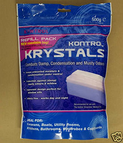 Kontrol Krystals Dehumidifier replacement crystals 500g from Kontrol