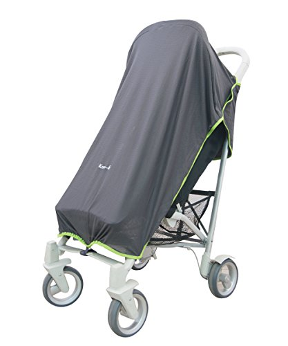 Koo-di Sun and Sleep Stroller Cover (Charcoal Grey) from Koo-Di