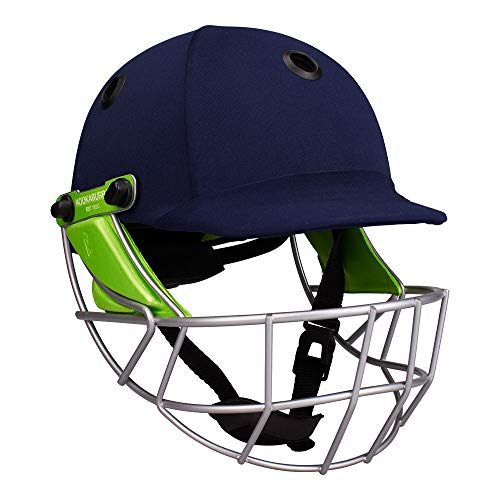 Kookaburra Pro 600 Junior Cricket Helmet - Navy Small/Mini (54-56 cm) from Kookaburra