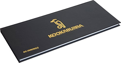 Kookaburra Cricket Sports Match Scorers Record Keeping 60 Inning Scorebook from Kookaburra