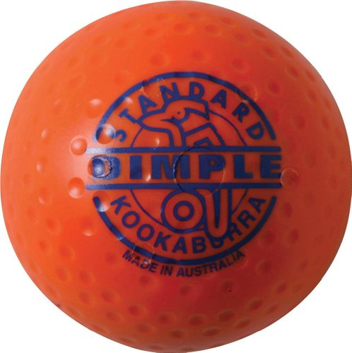 Kookaburra Dimple Standard Hockey Balls - Orange from Kookaburra
