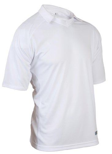 KOOKABURRA Men's React Shirt, White, Small from KOOKABURRA