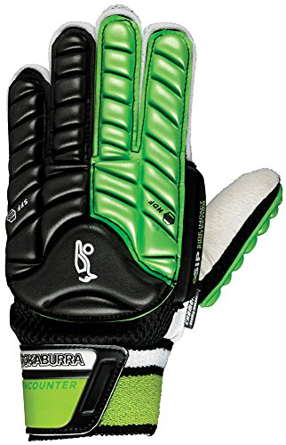 Kookaburra Unisex Encounter Hand Guard Hockey Protective Equipment, Black/Lime, X-Small from Kookaburra