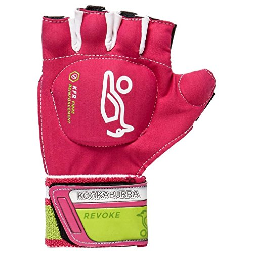 kookaburra Unisex Revoke S L/H Hockey Protective Equipment, Pink/Lime, Small from Kookaburra