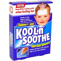 Kool n Soothe Soft Gel Sheets For Children (4) from Kool n Soothe