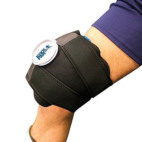 Premium Reusable Ice Wrap for Knee Pain Relief with Ice Bag 28cm from Koolpak