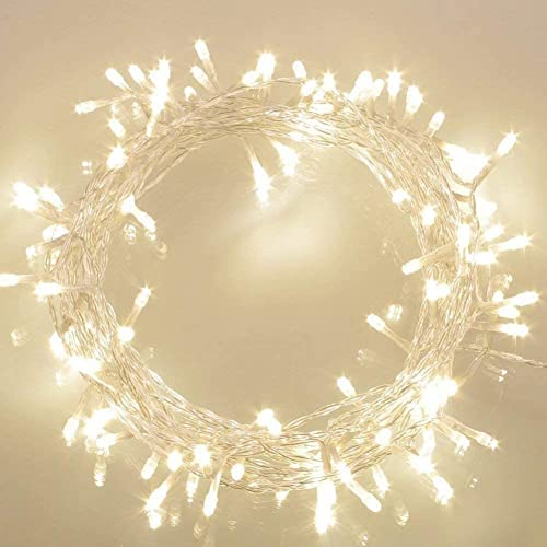 Battery Operated Waterproof Fairy Lights with 10M 100 Warm White LEDs from Koopower