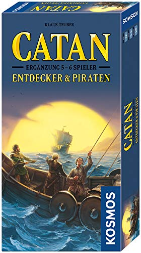 Kosmos 694111 - Catan Explorers and Pirates Expansion - Strategy Game from Kosmos