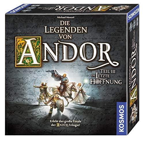 Kosmos Games 692803 The Legends of Andor - Part III The Last Hope from Kosmos