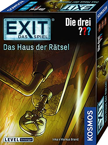 Kosmos 694043 – 'Exit Music: Drei??? Haus Mystery Board Game from Kosmos