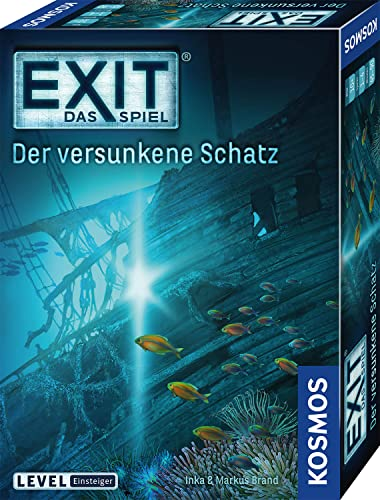 Kosmos Games 694050 Exit Game: The Sunken Treasure, Board Game [German Language Product] from Kosmos