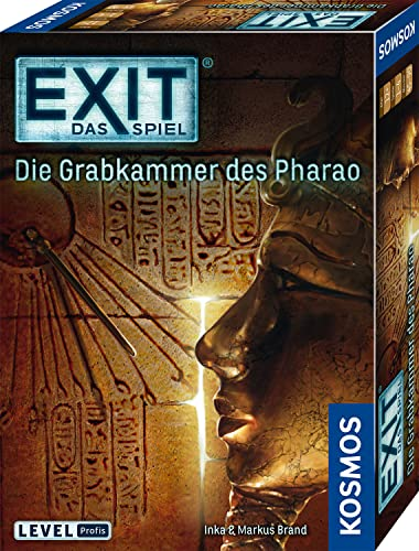 KOSMOS Games 692698 - Exit - The Game - The Tomb of the Pharaoh, Fans of the Year 2017 ( GERMAN VERSION) from Kosmos