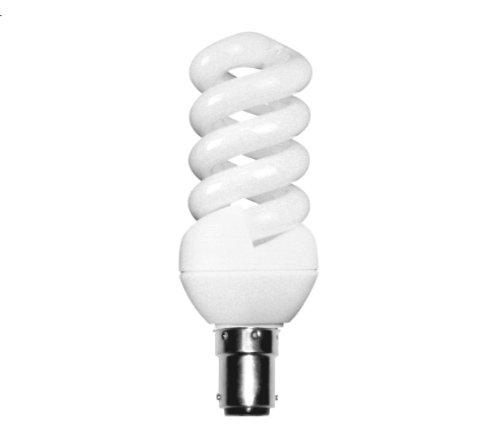 Kosnic B15 11 Watt CFL Extra Mini Spiral Lamp, Warm White from Kosnic