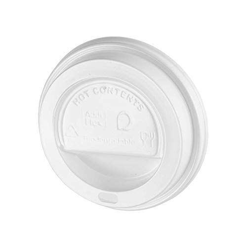 White 12/16oz Sip Lid for Kraft Ripple cup from Kraft