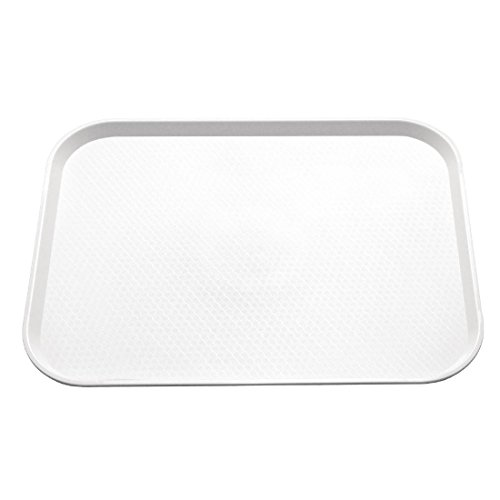 Kristallon Foodservice Tray 450X350mm White Serving Platter from Kristallon