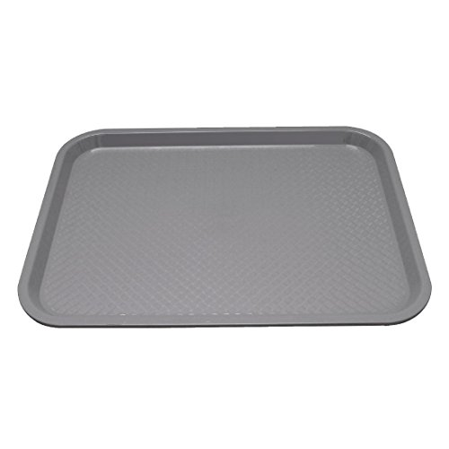 Kristallon Foodservice Tray 350X450mm Grey Serving Platter from Kristallon