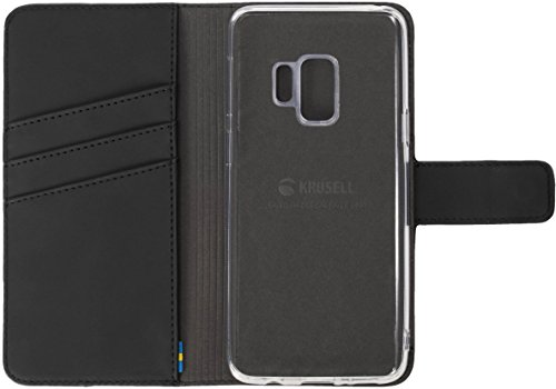 Krusell 2-in-1 Loka Folio Wallet Case for Samsung S9 Plus - Black from Krusell
