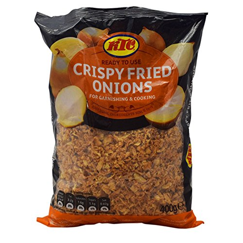 KTC Crispy Fried Onions - 1 x 400g from Ktc