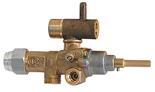 Küppersbusch Gas Valve – Type GPEL21D – with Output and Internal Nozzle from Küppersbusch