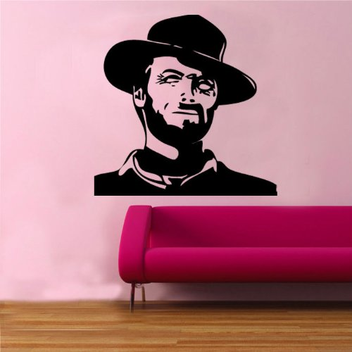Clint Eastwood Wall Sticker from Kult Kanvas