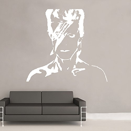 David Bowie Wall Sticker from Kult Kanvas