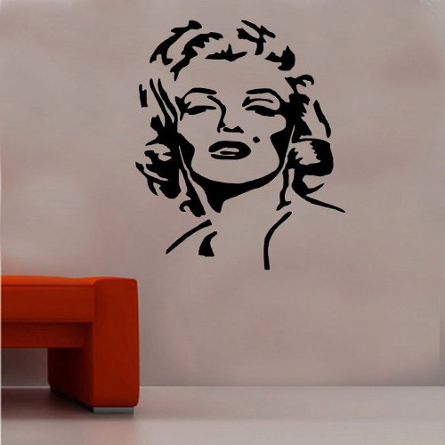 Marilyn Monroe Design 3 Wall Sticker from Kult Kanvas