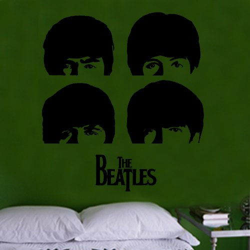 The Beatles A Hard Days Night Cover Decal Vinyl Wall Sticker (CEL93) from Kult Kanvas