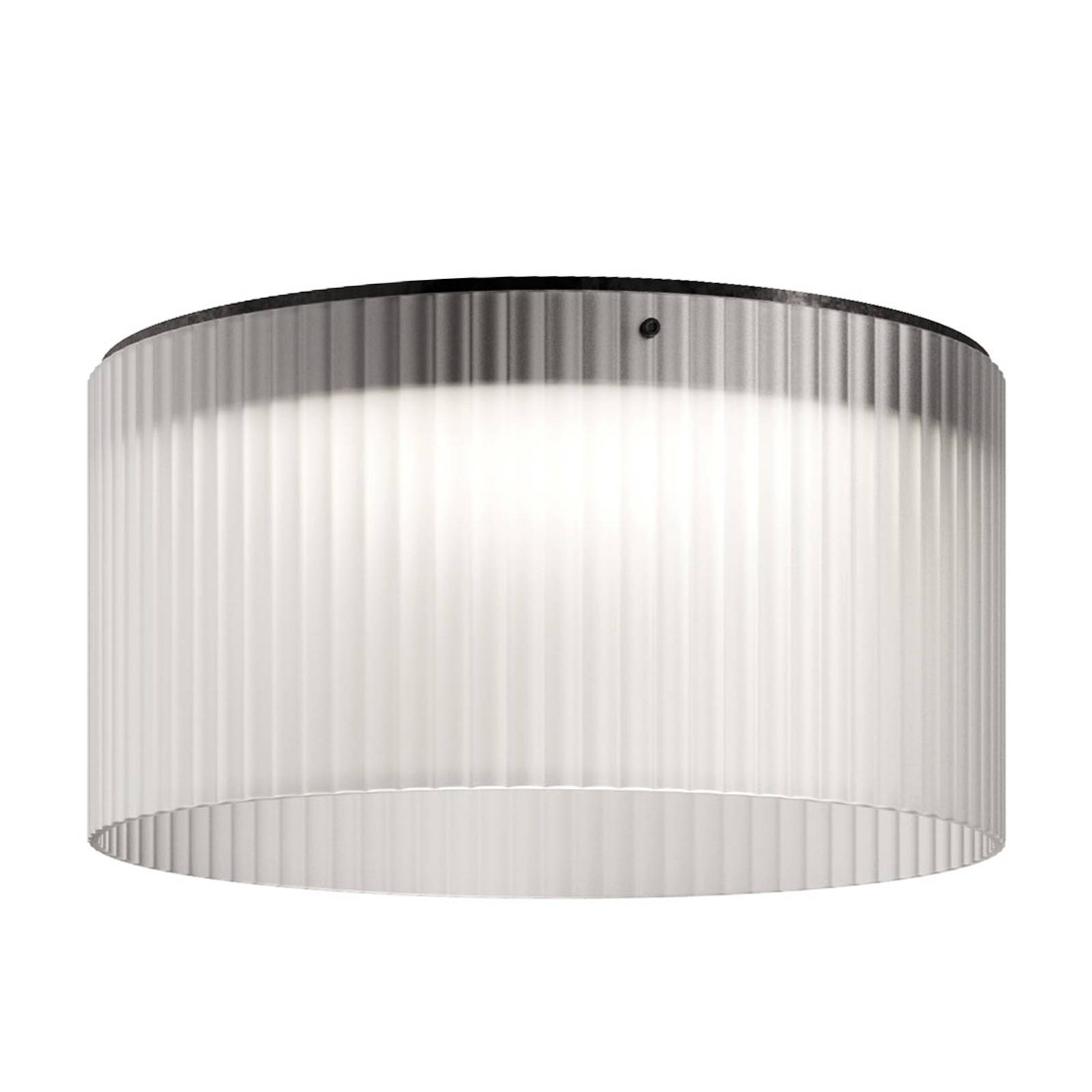 Kundalini Giass - LED ceiling light Ø 50 cm, white from Kundalini