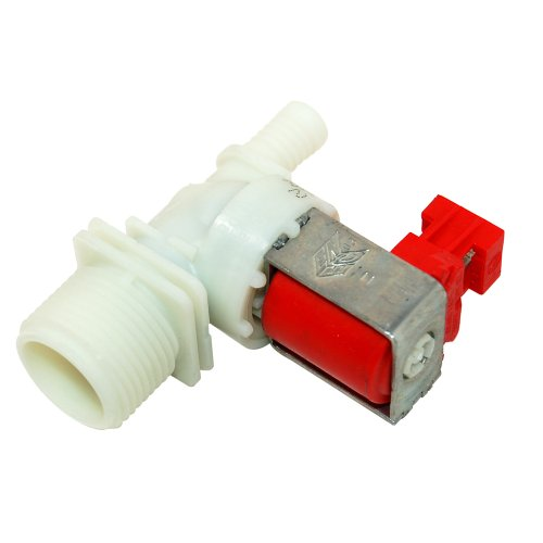 Single Solenoid Fill Hot Valve for Kuppersbusch Washing Machine Equivalent to 3792261020 from Kuppersbusch