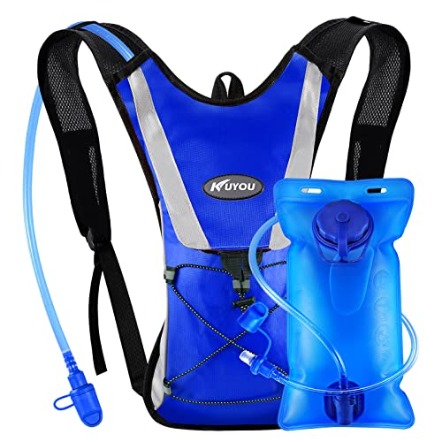 bda2c9451c8 Professional Hydration Backpack, Water Bag Backpack with 2L Hydration Pack  Water Bladder Perfect for Hiking