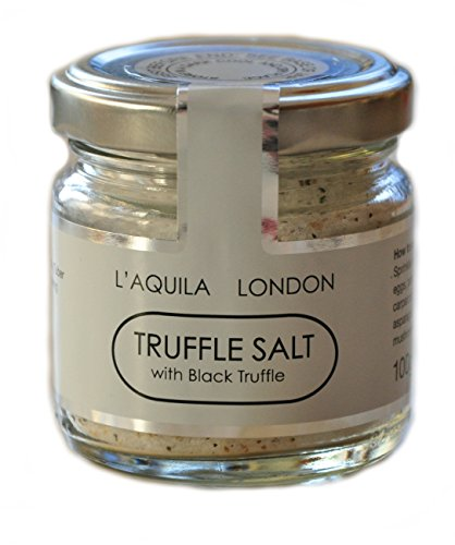 TRUFFLE SALT with BLACK SUMMER TRUFFLE 100g from L'Aquila